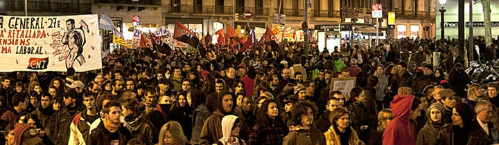 Spanish protesters Indignados
