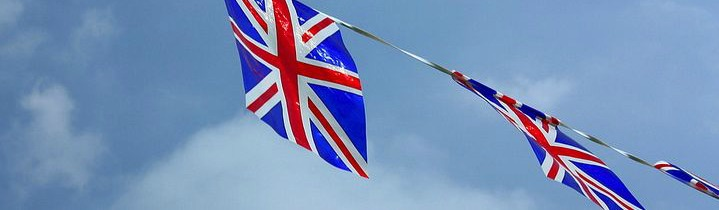 Union Jack bunting banner