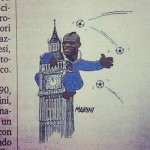La Gazzetta dello Sport Balotelli cartoon