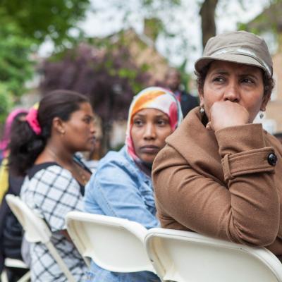 Refugee Jubilee seating