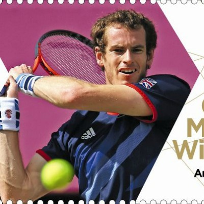 Andy Murray commemorative stamp