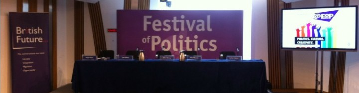 Festival of Politics in Edinburgh
