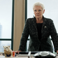 Judi Dench plays M in new James Bond