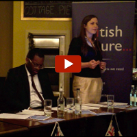 The Spectator&#039;s Isabel Hardman spoke at British Future&#039;s event The New Patriotism: Beyond the Spirit of 2012.