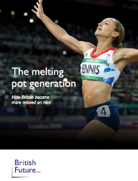 Melting pot generation - Jessica Ennis