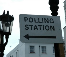 Polling station. Photo: Drift Words