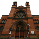 The outside of New West London Synagogue, one of the oldest synagogues in London, which opened in 1879. Photo: Emmanuel Dyan