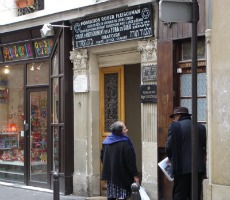 The Parisian neighbourhood of Le Marais houses various Jewish communities, including two synagogues in the house pictured. Photo: cicilief