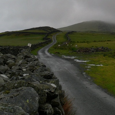 The hills above Llanbedr, in north-west Wales. Photo: Welshdan
