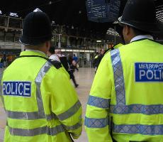 UK policemen. Photo:  estherase