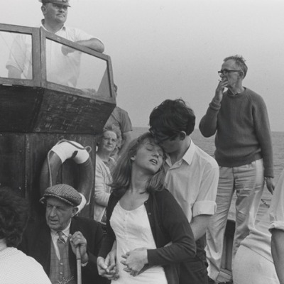 Beachy Head boat trip, 1967, Tony Ray-Jones  National Media Museum Collection