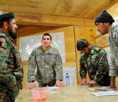 Soldiers with interpreter, Afghanistan 2009. Photo: isafmedia