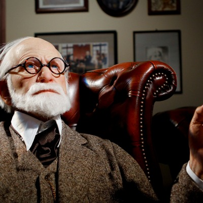 Sigmund Freud at Madame Tussauds. Image: Neo_II