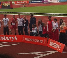 The winners from the IPC Athletics Grand Prix, Alexander Stadium, Birmingham, Saturday 29th June 2013