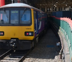 Train coming into Manchester. Photo: TheJRB