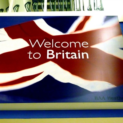 Sign at Heathrow airport. Photo: dcmaster