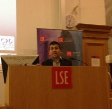 Sunder Katwala delivering the Ralph Miliband Lecture