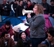 Youth speaker. Photo: garryknight