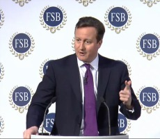 David Cameron at the Federation of Small Businesses' Policy Conference, January 2014