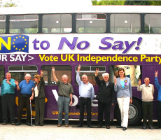 Ukip supporters. Photo: Euro Realist Newsletter