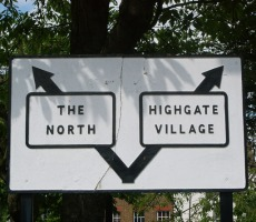 Sign London and North. Photo: Julian Osley via Google images