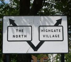 Sign London and North. Photo: Julian Osley via Google images