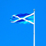 Flag of Scotland. Photo: Aly1983 via Flickr