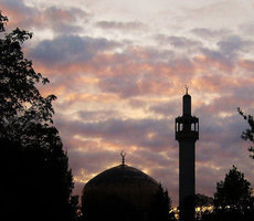 London Central Mosque. Photo: Flickr via Michael Caroe Andersen