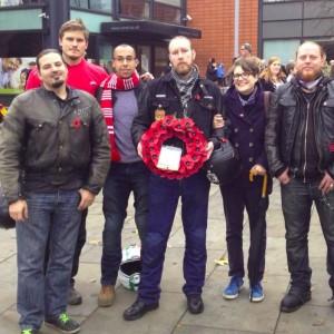 Bikers remember in Tottenham