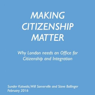 Citizenship report cover