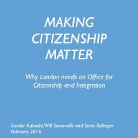 Citizenship report cover