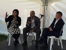 Baroness Warsi, John Denham and Aaqil Ahmed discuss an English Islam