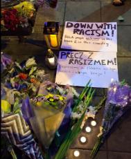 Vigil for Arkadiusz Jozwik, Stand Up To Racism Harlow
