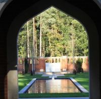 The Woking Peace Garden, at the site of the Muslim Burial Ground