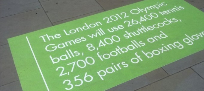 Stats about the 2012 London Olympics