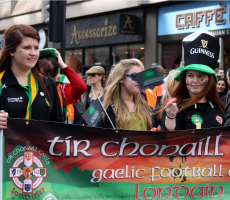 St Patrick's Day celebrations in London. Photo: xpgomes10