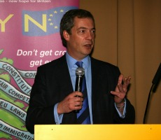Nigel Farage. Photo: Euro Realist Newsletter