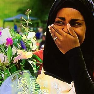 Nadiyah wins Great British Bake-Off