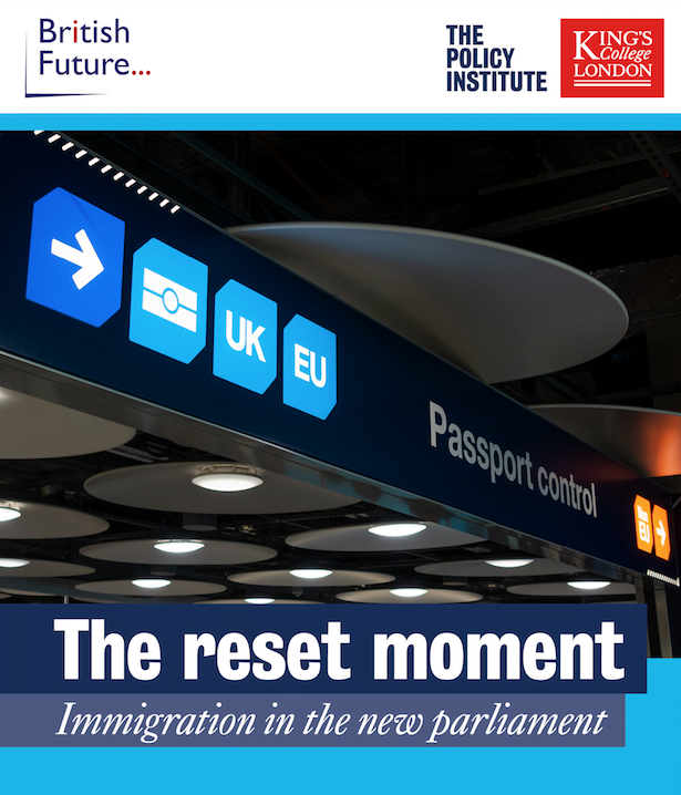 The reset moment: immigration in the new parliament