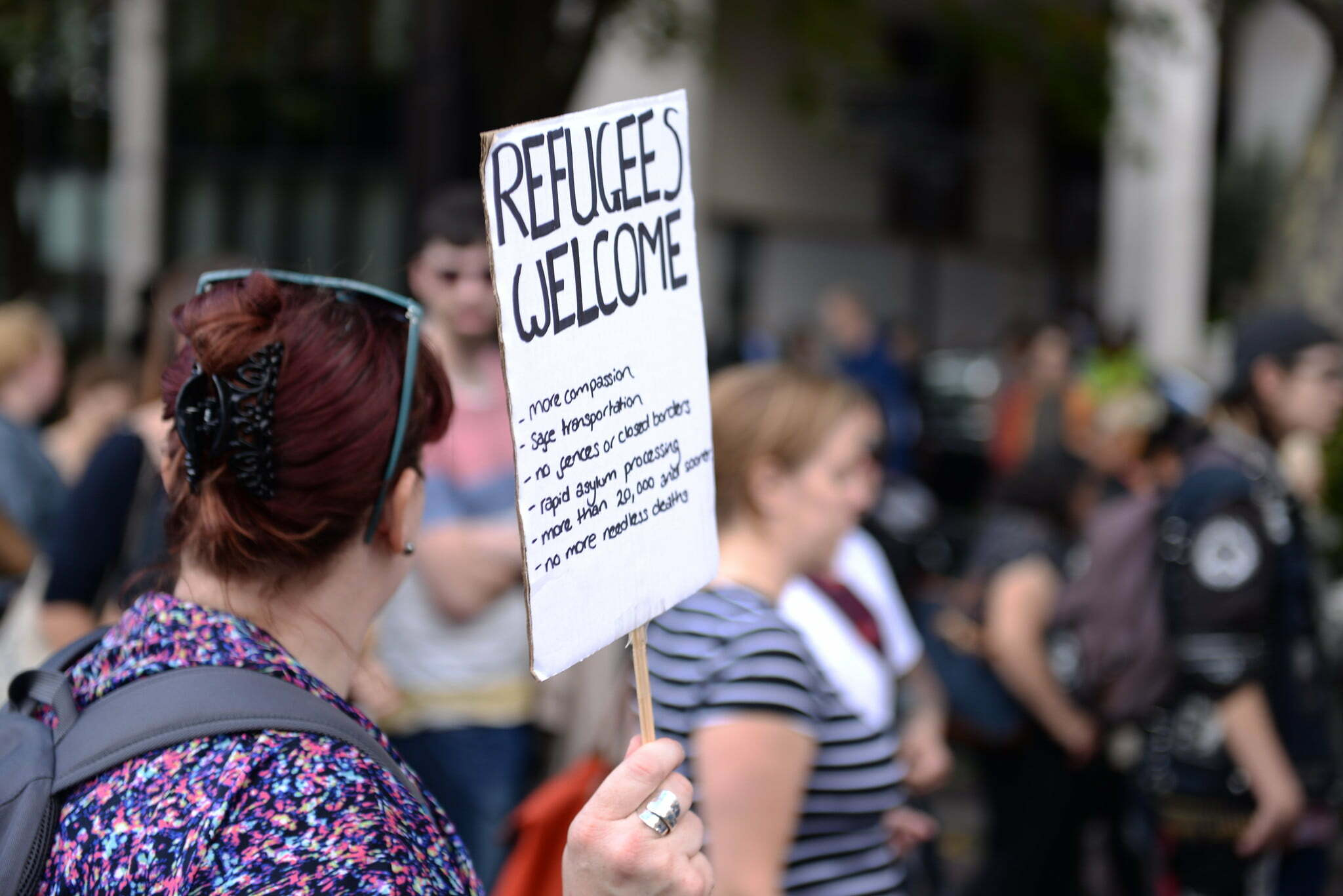 Britons march again to show refugees still welcome
