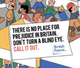 About our 'No place for prejudice' campaign