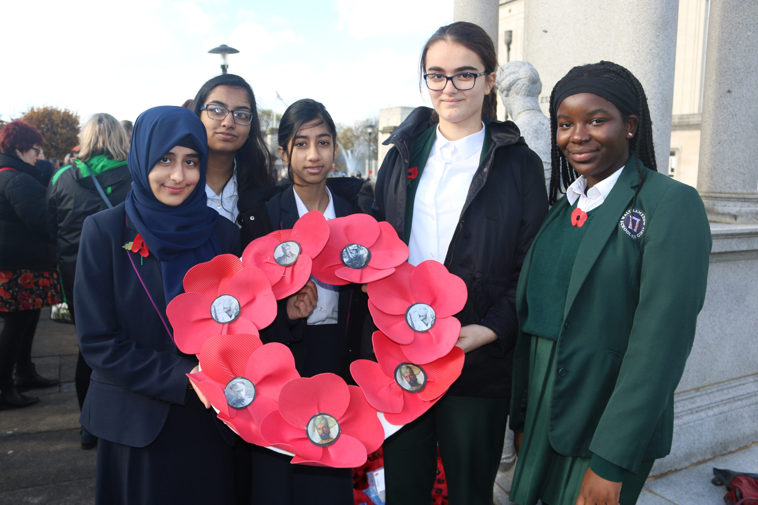 VIDEO: London schools Remember Together