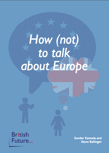 How (not) to talk about Europe