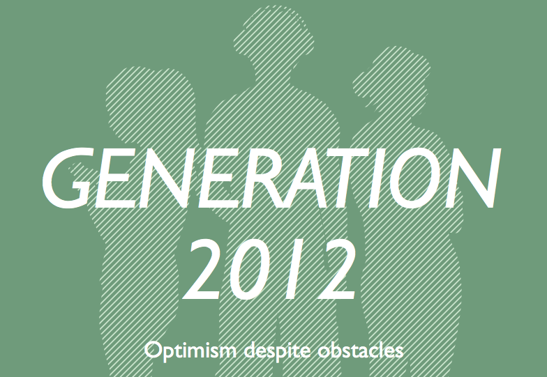 Generation 2012: Optimism Despite Obstacles