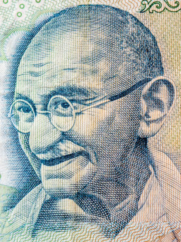 Gandhi does not quite fit the bill of recognising ethnic minority Britons on our currency