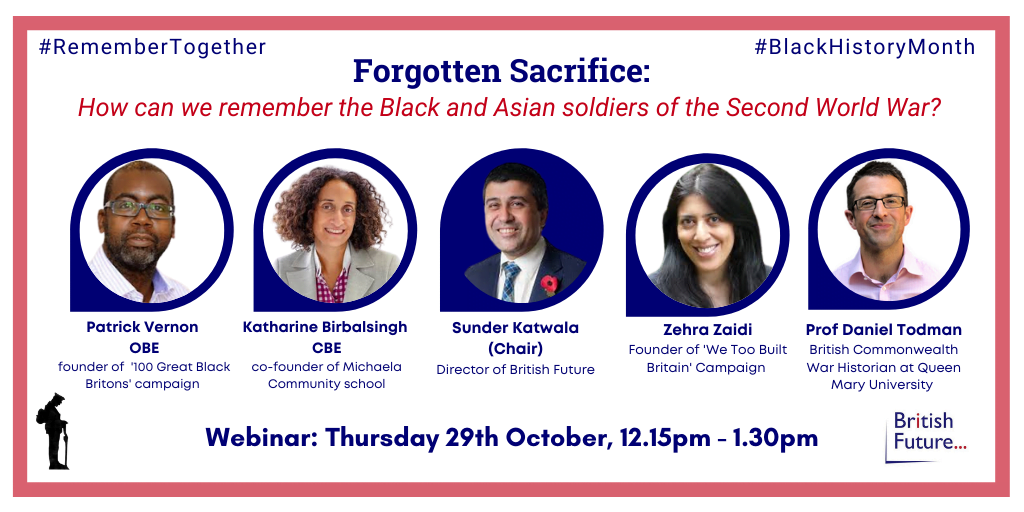 Forgotten Sacrifice: How can we Remember the Black and Asian soldiers of the Second World War?