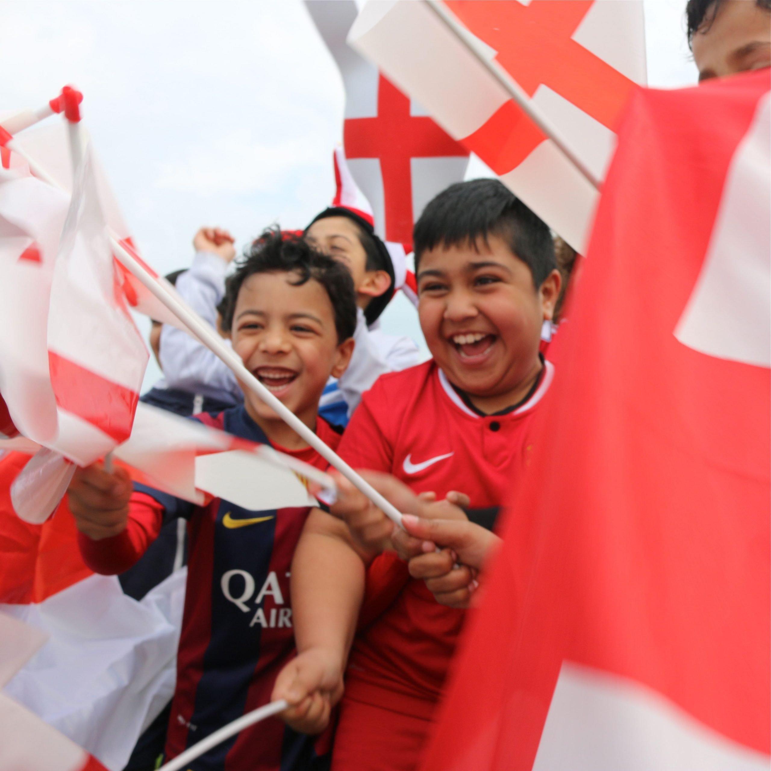 England 6 Racism 0