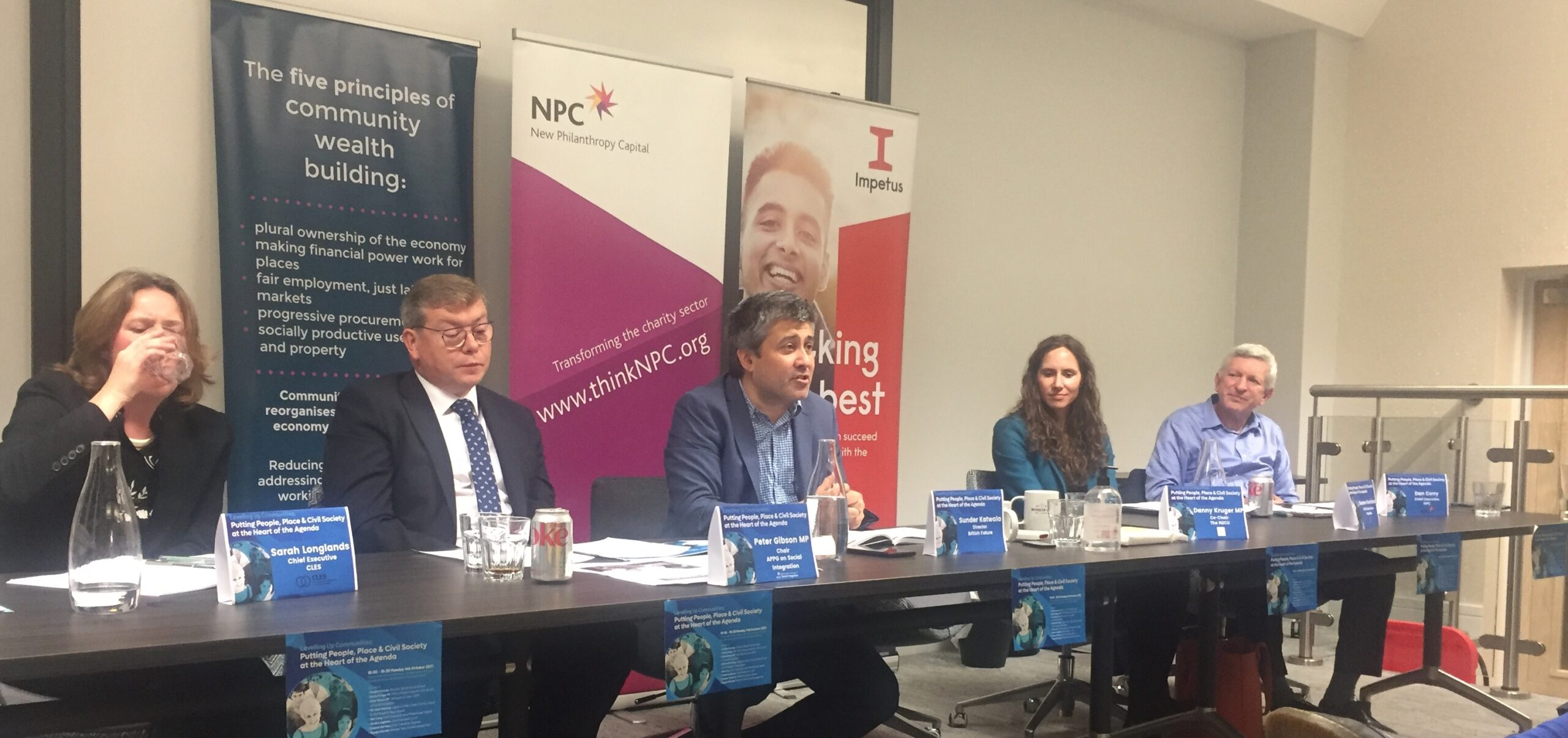 Putting people at the heart of the Levelling Up agenda: conference fringe report